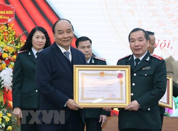 阮春福总理:监察总署的地位与威望不断提升 hinh anh 2