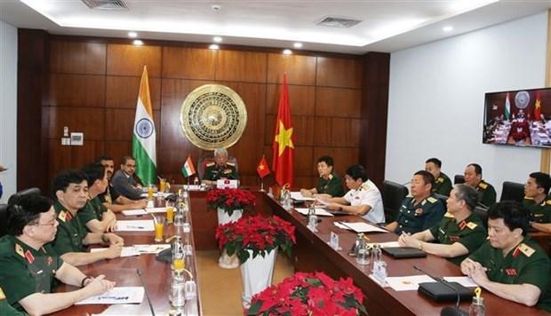 越南与印度举行第十三次防务政策磋商 hinh anh 1