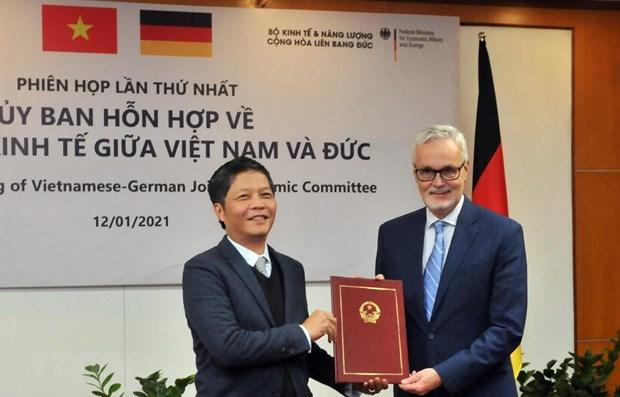 越欧自贸协定是推动德国与越南贸易协定的重要动力 hinh anh 1
