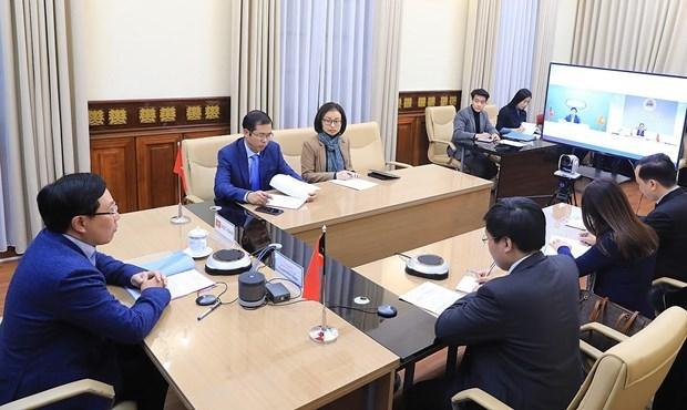 越南与东帝汶继续在各国际和地区场合上保持合作和互相支持 hinh anh 2