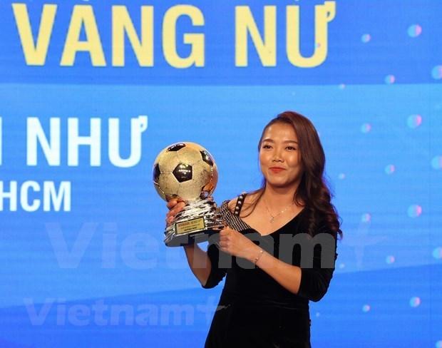 阮文决和黄茹获得2020年越南金球奖 hinh anh 2