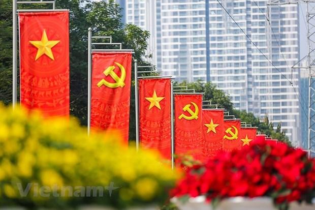 越共十三大:提高越南的地位 hinh anh 3