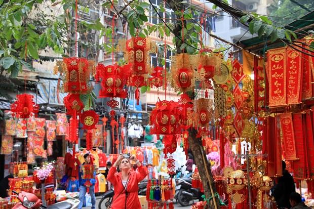 春节的河内 hinh anh 1