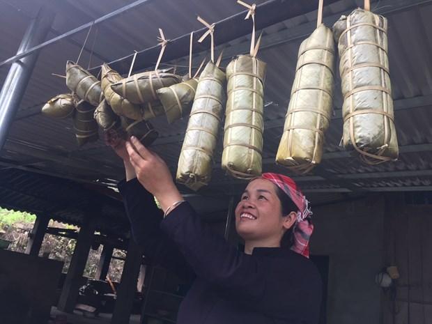 黑色粽子——春节的香味 hinh anh 2