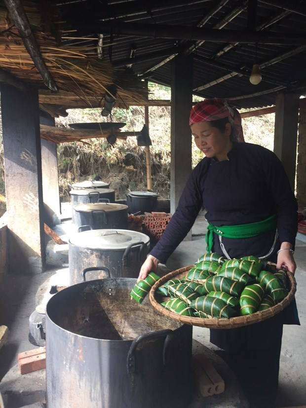 黑色粽子——春节的香味 hinh anh 3
