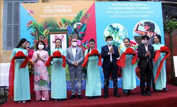 哥伦比亚风土人情图片展在广南省开幕 hinh anh 1