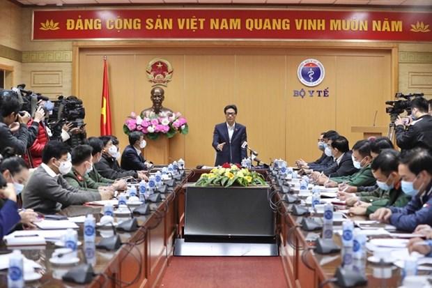武德儋副总理:坚持疫情防控中人民利益至上原则 hinh anh 1