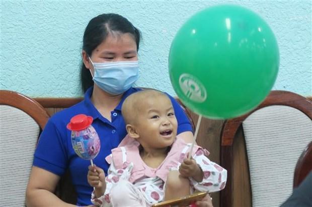 越南首例儿童自体造血干细胞移植获得成功 hinh anh 1
