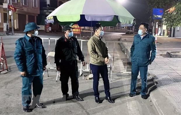 新冠肺炎疫情:自2日零时起广宁省暂时对盖宝岛岛的全部7个乡、镇进行封锁 hinh anh 1