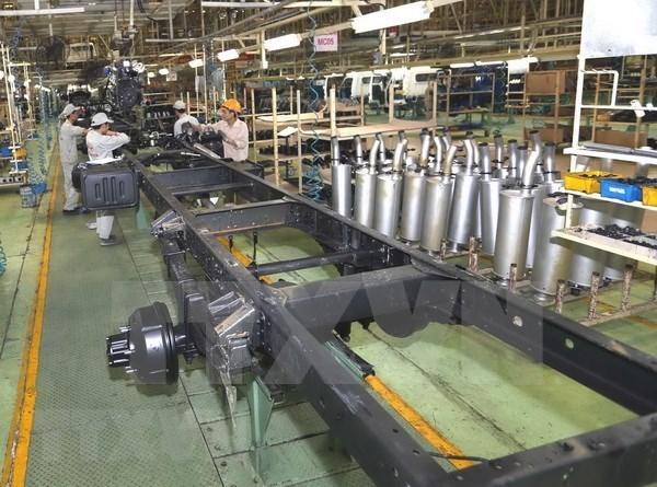 2021年1月工业生产指数同比增长22%以上 hinh anh 1