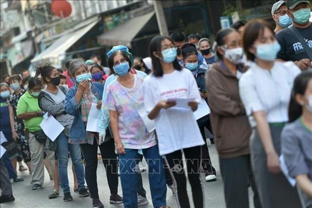 新冠肺炎疫情:泰国和菲律宾新增的新冠病例数较高 hinh anh 1