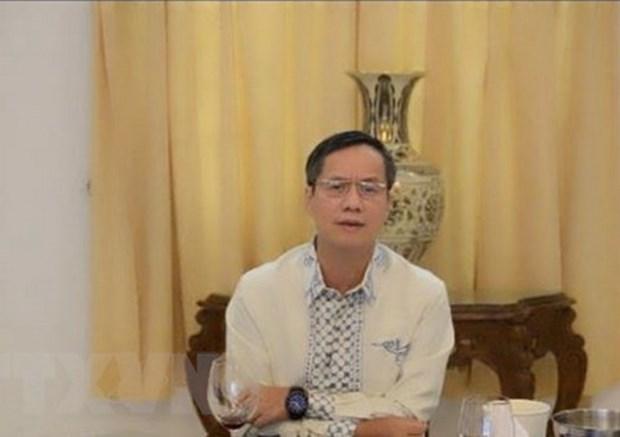 越南驻印尼大使馆对越南渔民进行领事探视 hinh anh 1