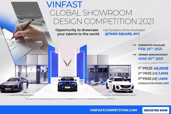 2021年VinFast全球展厅设计大赛正式启动 hinh anh 1