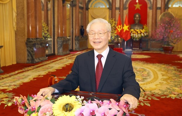 越共中央总书记、国家主席阮富仲:发挥民族力量 凝聚向上意志 hinh anh 1