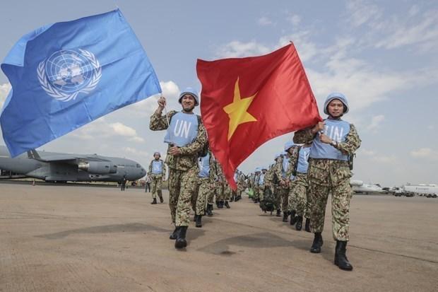 越南参与联合国维护行动:增强国家综合实力 hinh anh 1