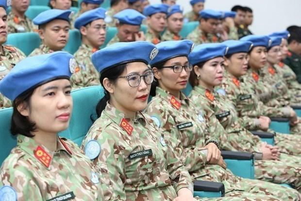 越南参与联合国维护行动:增强国家综合实力 hinh anh 2