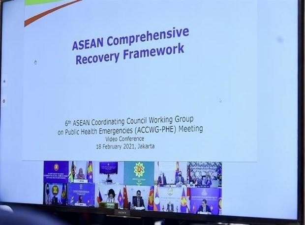 越南和东盟其他成员国同意出资1050万美元购买新冠疫苗 hinh anh 2