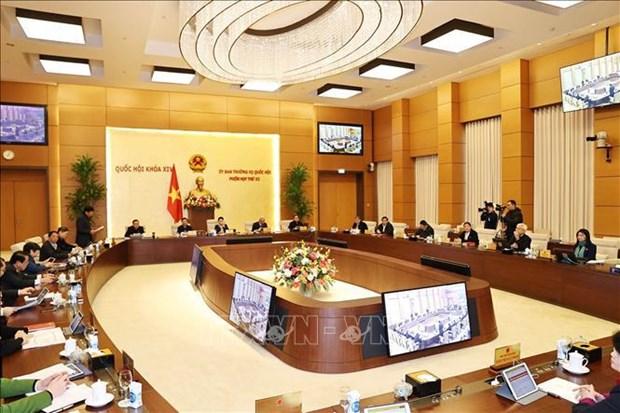 越南第十四届国会常务委员会第53次会议于2月22日召开 hinh anh 1