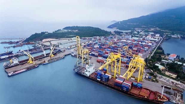 今年一月份越南港口行业仍保持良好的增长 hinh anh 1