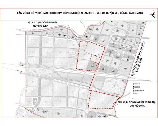政府总理批准北江省各工业园区发展规划的调整补充提案 hinh anh 1