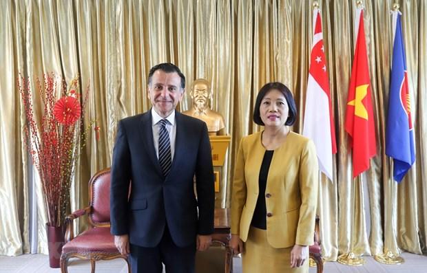 约旦希望同越南加强经贸与投资领域的合作 hinh anh 1