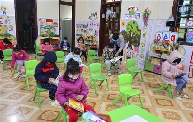 越南52个省市学生重返校园 hinh anh 2