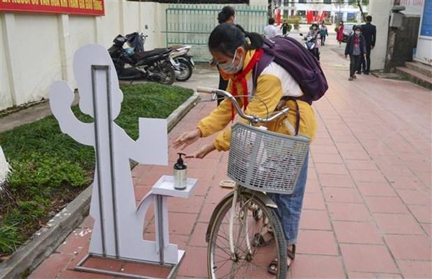越南52个省市学生重返校园 hinh anh 1