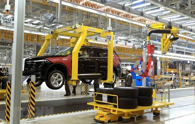 越南温捷汽车制造商计划在美国建设汽车生产厂 hinh anh 1