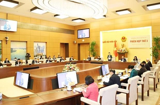 越南国会主席阮氏金银主持国家选举委员会第三次会议 hinh anh 2
