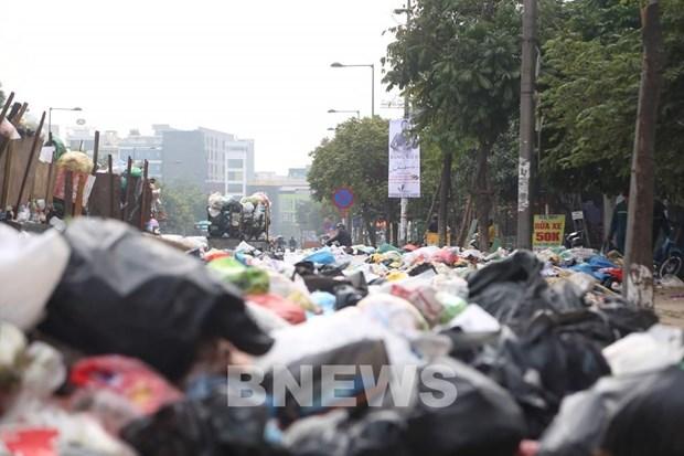 河内市应立即防止塑料废物重新增加现象 hinh anh 1