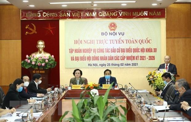 国会和人民议会代表选举:为第二次协商做出充分准备 hinh anh 1