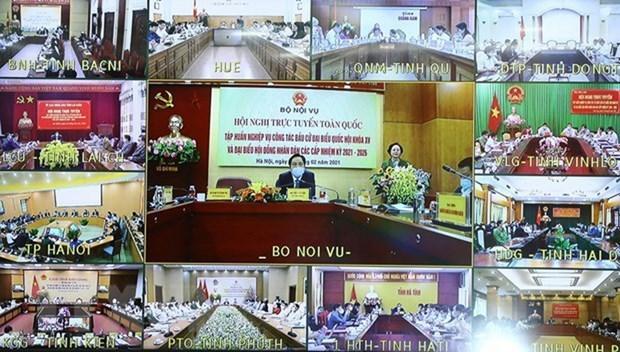 国会和人民议会代表选举:为第二次协商做出充分准备 hinh anh 2