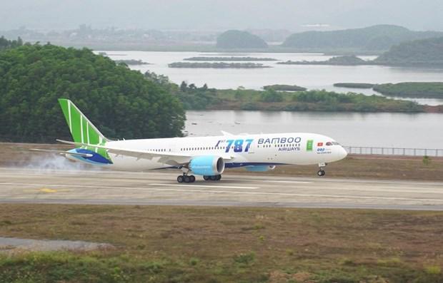 越竹开通多条新航线 恢复运营往返云顿机场航线 hinh anh 1
