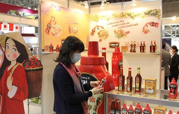 越南在日本国际食品与饮料展推介农产品和食品 hinh anh 1