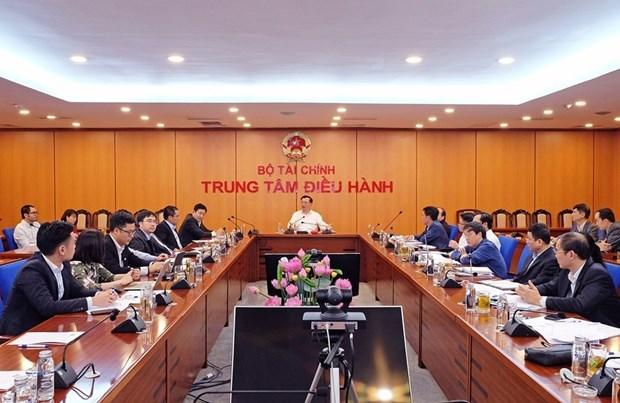 财政部部长指示成立工作组 彻底解决胡志明市证券交易系统拥堵现象 hinh anh 1