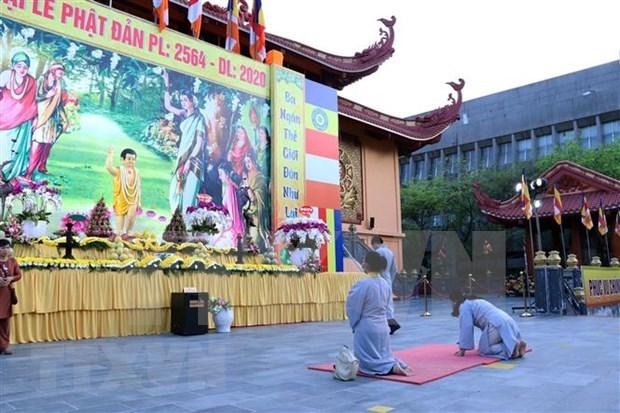 胡志明市在新常态背景下对宗教活动作出调整 hinh anh 1