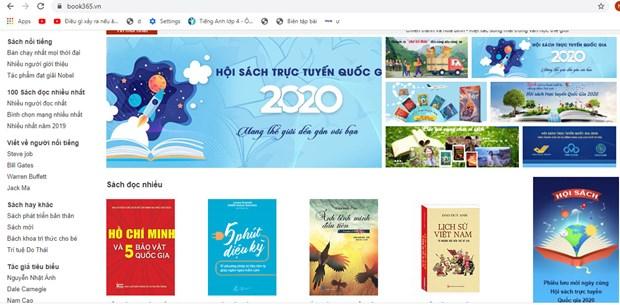 国家线上书籍日将于4月启幕 hinh anh 1