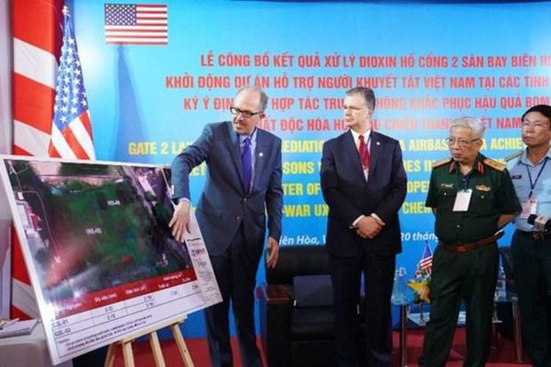 美国选择越南公司为边和机场二恶英处理项目机场的主承包商 hinh anh 2