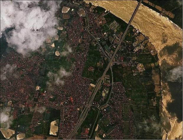 VNREDSat-1卫星图像在温室气体排放核算中的应用 hinh anh 2