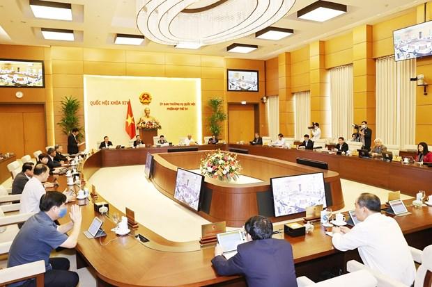 越南国会常委会第54次会议开幕 hinh anh 1
