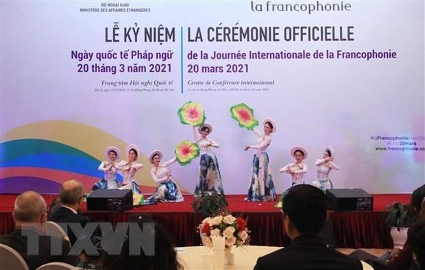 越南主动巩固法语圈的团结 hinh anh 1