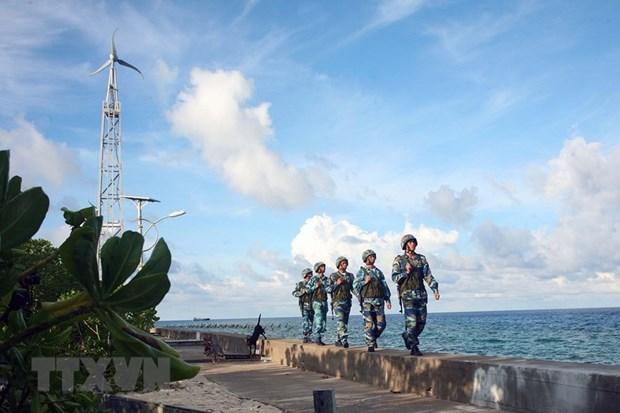 在战略、边界和海洋岛屿地区巩固和加强国防安全 hinh anh 1