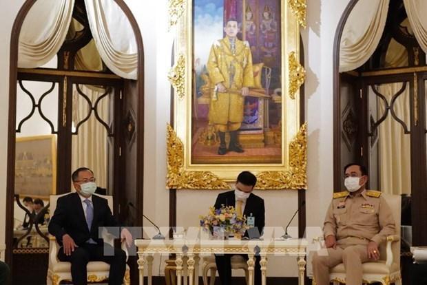 泰国总理高度评价泰越战略伙伴关系 hinh anh 1