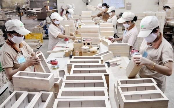 第一季度林产品出口额增长41.5% hinh anh 1