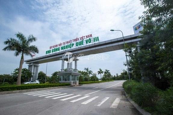 政府总理批准北宁省桂武III工业区第二分区的投资主张 hinh anh 1