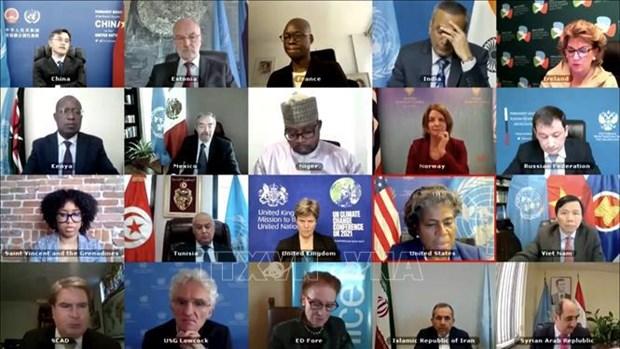 越南与联合国安理会:对叙利亚人道主义危机表示关切 hinh anh 1
