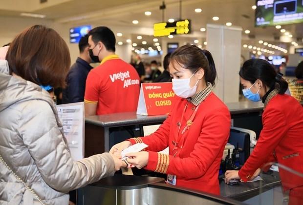 越捷开通从岘港、清化、芽庄、大叻和荣市飞往富国的5条新航线 hinh anh 1