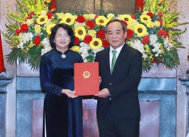 越南第十四届国会第十一次会议:提请国会免去国会主席和国家选举委员会主席的职务 hinh anh 3