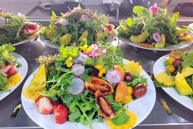 以大叻市蔬菜及鲜花为食料的100道佳肴即将亮相 hinh anh 1
