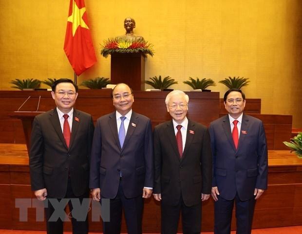 埃及媒体高度评价越南的新领导班子 hinh anh 1